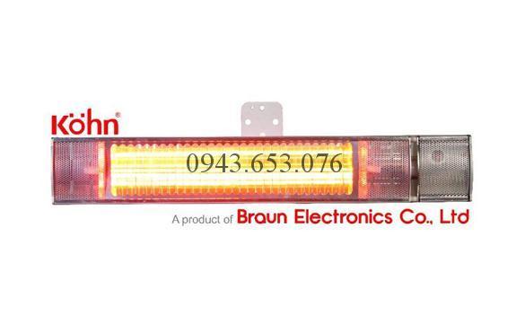 Đèn sưởi hồng ngoại không chói mắt Kohn Model K150