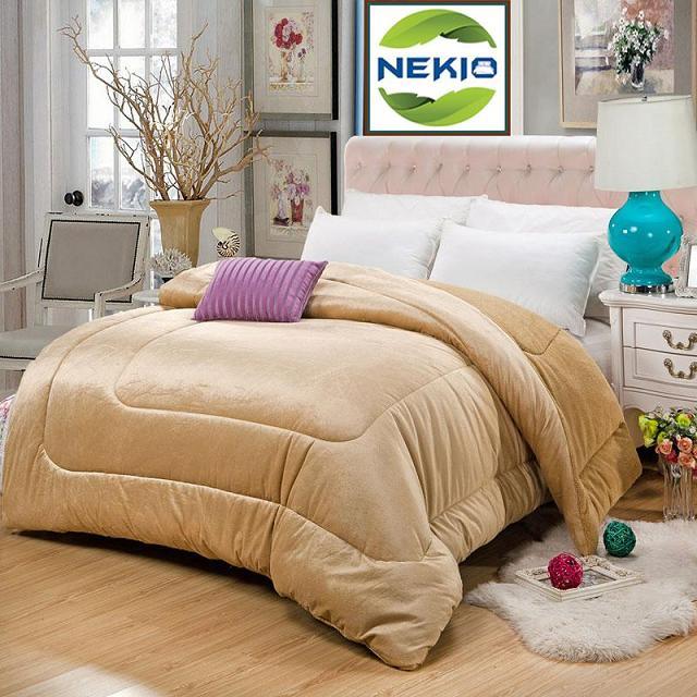 Chăn lông cừu Nekio vàng