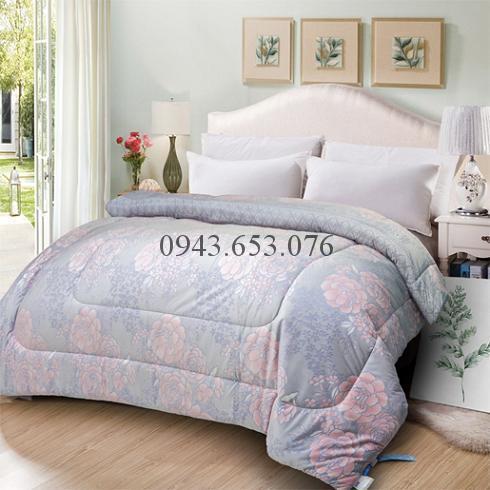 Chăn Lông Thỏ Queen Luxury Hoa Hồng